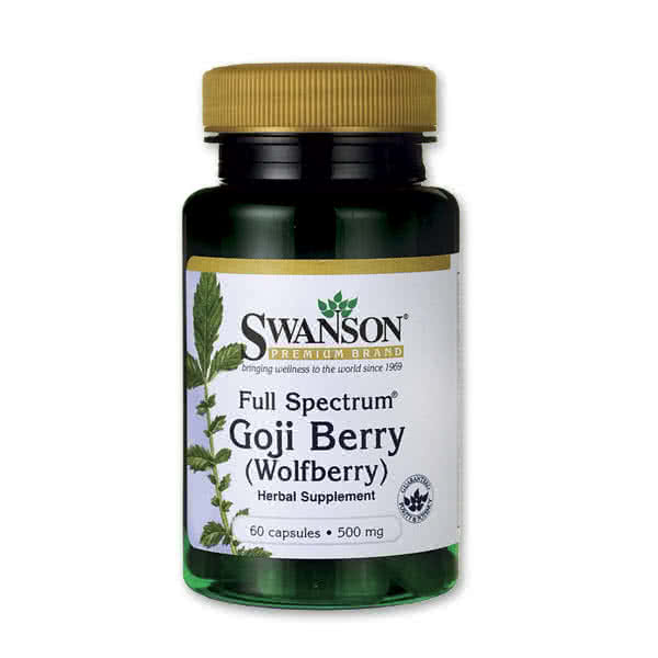 Swanson Goji Berry (500 mg) 60 kap.