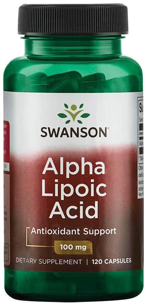 Swanson Alpha Lipoic Acid 120 kap.