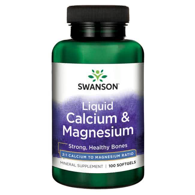 Swanson Liquid Calcium & Magnesium 100 g.k.