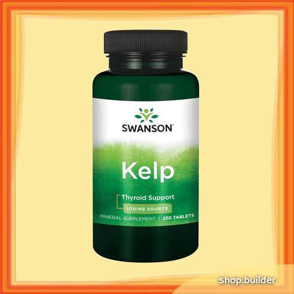 Swanson Kelp 250 tab.
