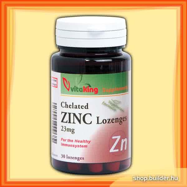 VitaKing Chelated Zinc 30 tab.