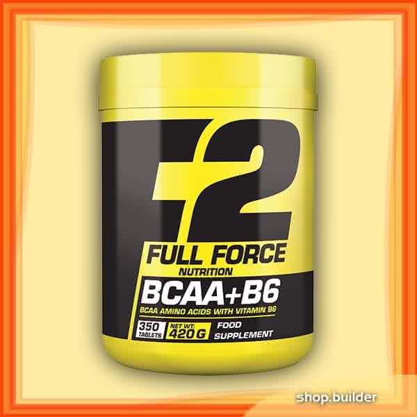 Full Force BCAA+B6 350 tab.