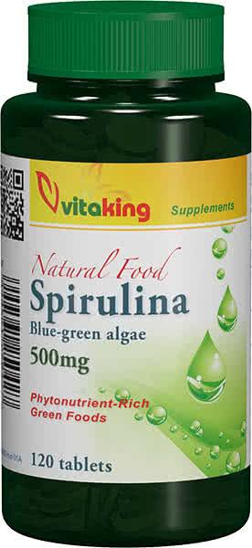 VitaKing Spirulina 120 tab.
