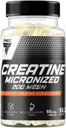 Trec Nutrition Creatine Micronized 200mesh 60 kap.