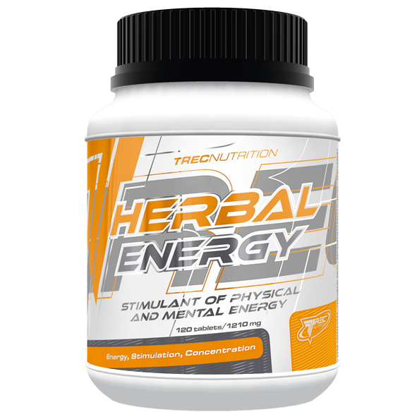 Trec Nutrition Herbal Energy 120 kap.