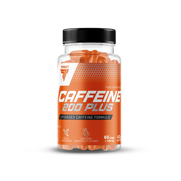 Trec Nutrition Caffeine 200 Plus 60 kap.