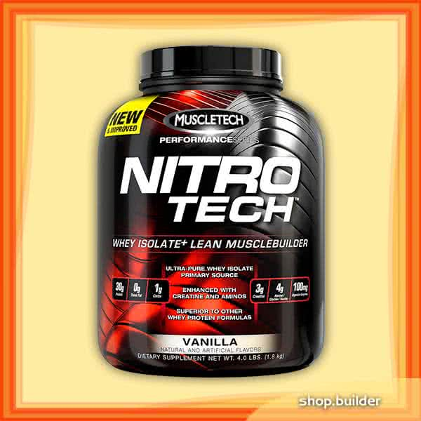 MuscleTech Nitro-Tech Performance Series 1,8 kg