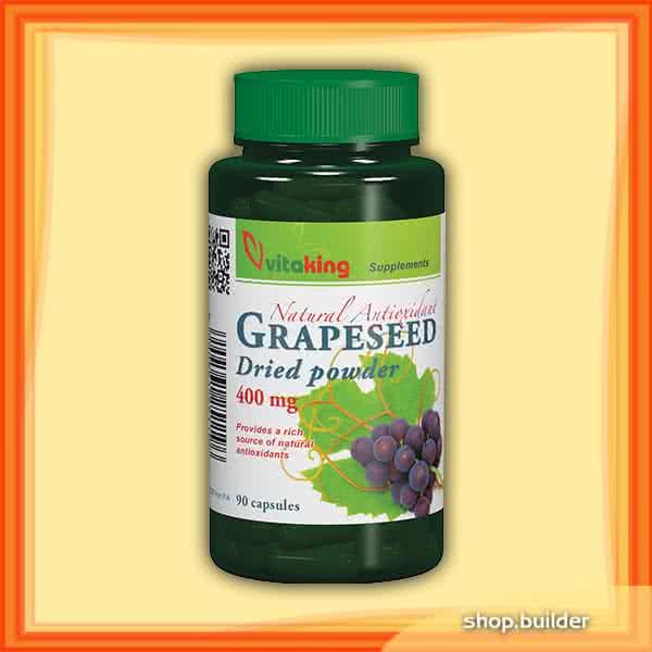 VitaKing Grapeseed 90 kap.
