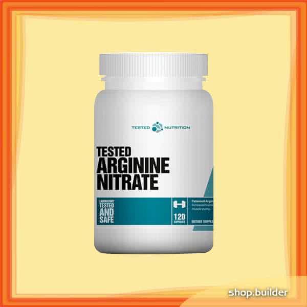 Tested Nutrition Tested Arginine Nitrate 120 kap.