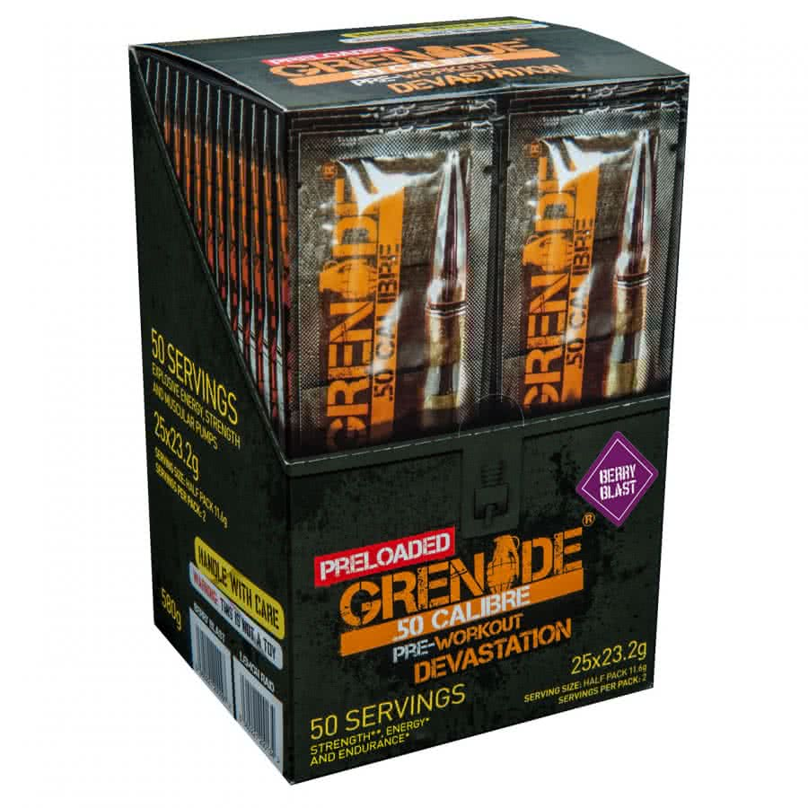 Grenade Pre Loaded 50 Calibre 25x23,2 g