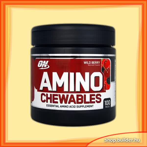 Optimum Nutrition Amino Chewables 100 žvečilnih tablet